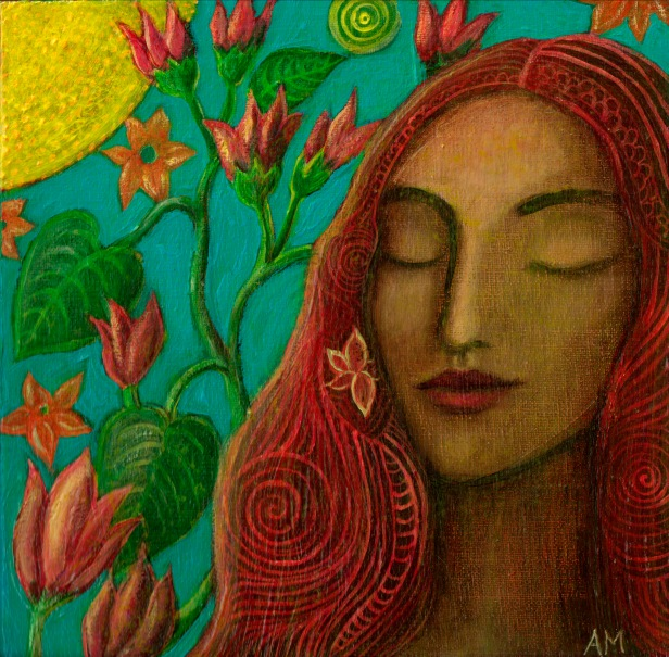 """""""Sun and Flowers"""" by Alice Mason"""